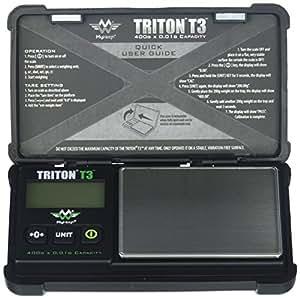 My Weigh T3400Triton T3400gram X 0.01balance numérique de poche Noir