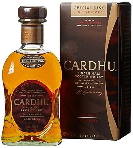 Cardhu Special Cask Reserve Single Malt Scotch Whisky (1 x 0.7 l)