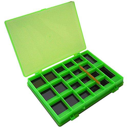 Magnetbox Box für Fliegen Haken Wirbel Fliegenbox Hakenbox Wirbelbox Zubehör Box