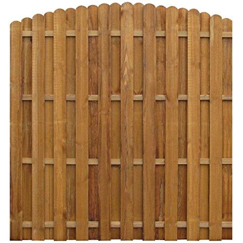Galleria fotografica vidaXL Giardino Recinto per tenuta recinzioni 170X (156–170) cm in legno di pino impregnato