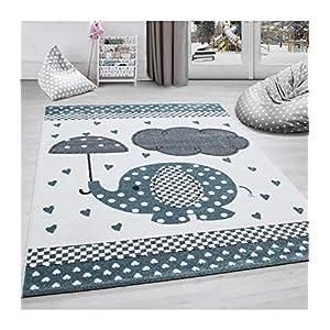 Teppich Kinderzimmer Elefant   Deine-Wohnideen.de