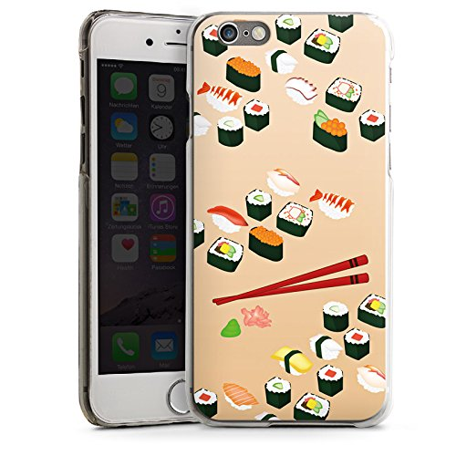 Apple iPhone 6 Housse Outdoor Étui militaire Coque Sushi Nourriture Nourriture CasDur transparent