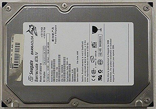 80GB Seagate ST380021A 3.5 Festplatte 7200rpm HDD, IDE/ATAPI/ATA, 100% OK - 80 Festplatte Gb Ide