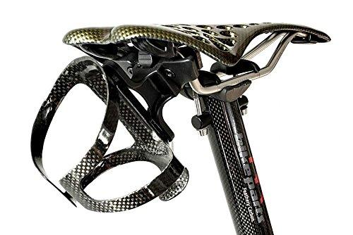 m-bikeparts Feathery Carbon Radsattel Trinkflaschenhalter Kit - FC201Sportly abnehmbar.