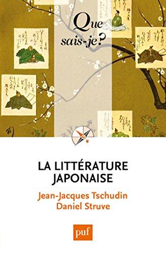 La littrature japonaise:  Que sais-je ?  n 710