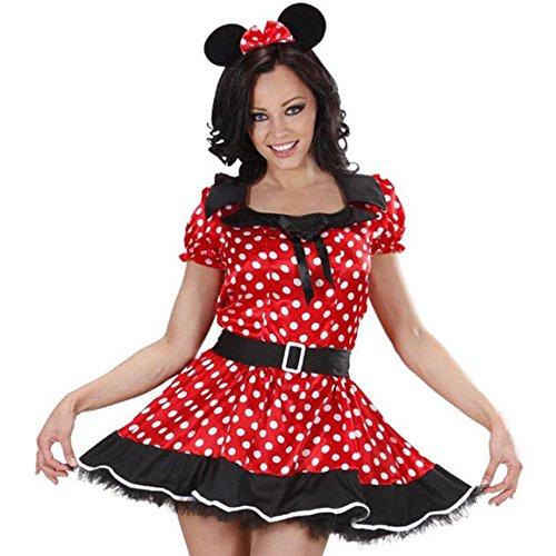 Outfits Disney Erwachsenen (Widmann 77443 Erwachsenenkostüm Mäuschen,)