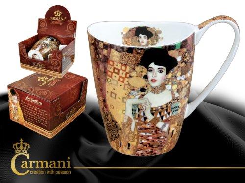 Gustav Klimt Schöne große Tasse Becher ' Adele Bloch ' Carmani Art Gallery
