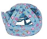 VWH Baby Helm Kopfschutz Mütze gegen Stöße für Kleinkind beim Lauflerner verstellbar Safety Helmet (Blau)