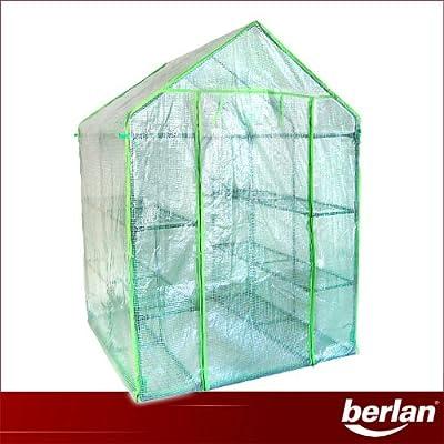 Berlan Gewächshaus 143 x 143cm BGH143X143-PE von Berlan bei Du und dein Garten