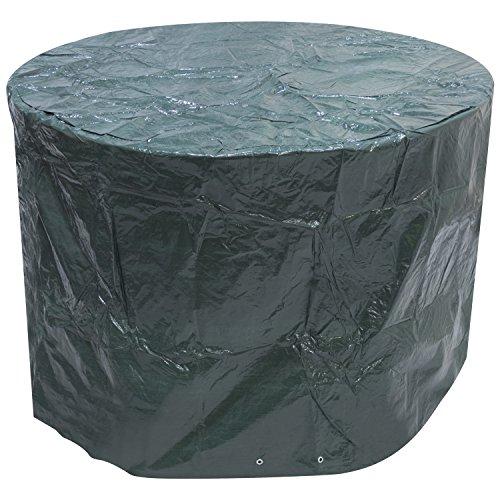Woodside Housse ronde imperméable pour meubles d'extérieur Large
