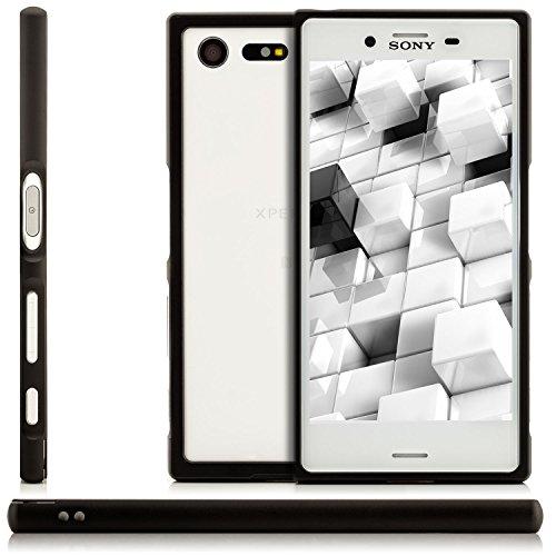 Saxonia Custodia di alluminio + 2x Vetro Temperato Apple iPhone SE 5 5S Case Cover Slim Bumper telaio del Respingente Antiurto Argento Nero