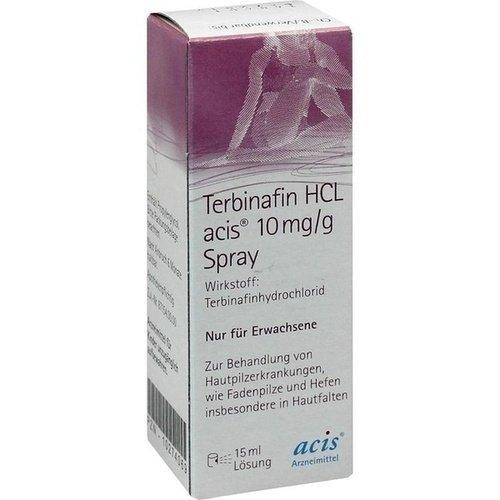 TERBINAFIN HCL acis 10 mg/g Spray 15 ml Spray - Lamisil Spray