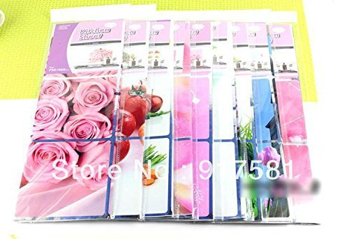 Kitchen Tools Kitchen Wall Cover Stickers Water Proof, Oil Proof and Hot Proof Aluminum Foil Large X 1Pc