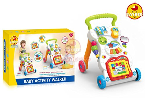 Baybee Baby Activity Walker (Multi Color)