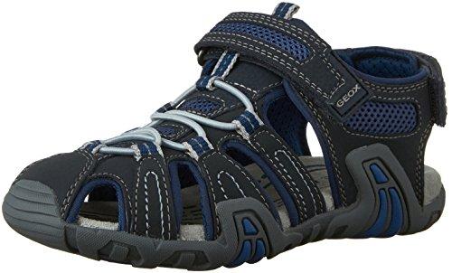 Geox Kraze G, Sandales Bout Fermé Garçon Bleu (C0700)