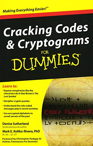 Cracking Codes and Cryptograms For Dummies (Paperback)