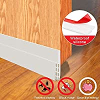 EZONTEQ Door Seal Strips- Weather Stripping Draft Stoppers Draught Excluders and Seals