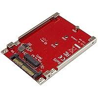 محول مهايئ StarTech.com M.2 إلى U.2 - بالنسبة إلى محركات الأقراص الصلبة NVMe من نوع M.2 PCIe NVMe - PCIe M.2 محرك إلى U.2 (SFF-8639) محول مضيف - محول SSD M2 (U2M2E125)
