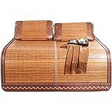 YONG FEI Colchón Fresco, Ropa de Cama de bambú Colchoneta de Paja Colchoneta de Dormir