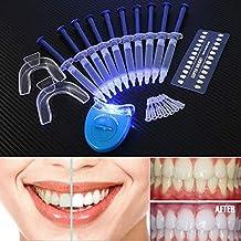 NAttnJf Profesional dientes blanqueamiento diente blanqueador LED blanco luz oral gel blanqueador dental Kit en el
