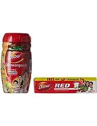 Dabur Chyawanprash Awaleha - Immunity Boost - 1kg (Free Dabur Red Paste - 150g)