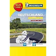 Michelin Kompaktatlas Deutschland 2017/2018: Maßstaab 1:300.000 (MICHELIN Atlanten)