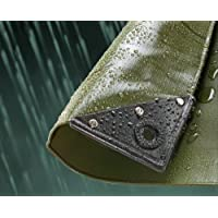 Kitmaster Supplies Olive Green PVC Waterproof Tarp Tarpaulin Ground Sheet Cover 560GSM Super Heavy Duty
