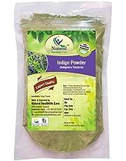 Natural Healthlife Care 100 Percent Natural Indigofera Tinctoria Indigo Hair Colour Powder, Green