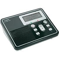 DeTeWe Message 400 - Contestador (pantalla LCD, 100-240 V, 50/60 Hz), negro