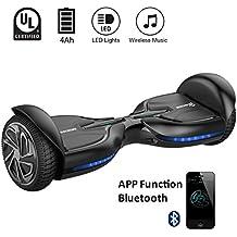 """EVERCROSS Q3 Hoverboard électrique 6,5"""" Skateboard électrique Gyropode Certifié norme"""