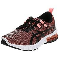 حذاء جل-كوانتم 90 2 للنساء من اسيكس, (SUN CORAL/BLACK), 40 EU