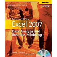 Microsoft?? Office Excel?? 2007: Data Analysis and Business Modeling (BPG-others) by Wayne L. Winston (26-May-2007) Paperback