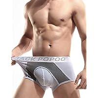 fdfgvdf Herren Sexy Push-Up Solid Ultra Sexy Panty Boxer Unterwäsche