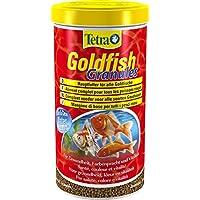 Tetra Goldfish Granules Aliment Complet en granulés pour Poisson Rouge/Poissons eau froide, 1L
