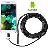 Shekar 7mm Android endoscopio boroscopio Inspección Cámara impermeable for samartphone con función OTG y UVC de 3.5m