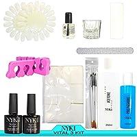 NYK1 Vital 3 Pro top_up Nailac GEL, gommalacca & acrilico SUPER-accessorio di valore con NYK1 & Base Top Coat