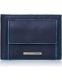 Men Wallet Blue Square