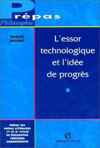 L Essor Technologique Et L Idee De Progres Pdf Online Llimarvin