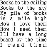 Libros para el techo vinilo