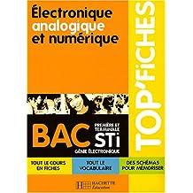 Electronique, analogique et numérique, Bac STI génie électronique