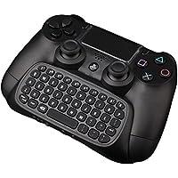Wireless Controller di gioco tastiera Megadream® 2,4GHz Bluetooth batteria tastiera gaming online Chat Messaggio Gamepad tastiera adattatore con 3.5mm audio AUX per Sony PS4Microsoft Xbox One