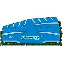 Ballistix Sport XT - Kit memoria RAM de 16 GB (8 GB x 2, DDR3, 1866 MT/s, PC3-14900, UDIMM 240-Pin)
