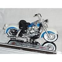 harley Davidson 1958 Flh Duo Glide Blau 1/18 Maisto Modellmotorrad Modell Motorrad