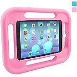 Snugg Rosa Funda anti golpe / caída para el iPad Air Retina a prueba de niños con garantía de por vida.