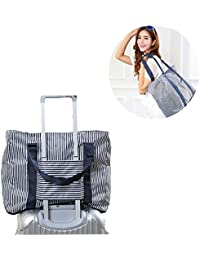 PETRICE Travel Luggage Carry on Clothes Storage Duffle Bag Organizer (Colour May Vary)
