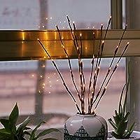 Willow Branch Lampe gaddrt LED-Weide-Zweig-Lampen-Blumenlichter 20 Birnen-Ausgangsweihnachtsfest-Garten-Dekor