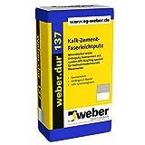 weber.dur 137 Faser-Leichtputz 30kg für hochwärmedämmende Mauerwerke Faserputz
