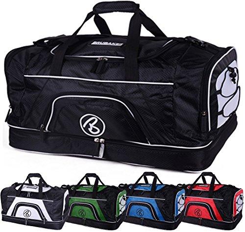 'Big Base' XXL sac de sport 90 Litres ou 'Medium Base' 52 Litres avec grand compartiment humide + compartiment à chaussures