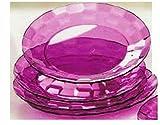 #6: Tupperware Prism Dessert Plate (Set of 4)