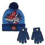 ARTESANIA CERDA Conjunto 2 Piezas Spiderman Calentadores, Gris (Gris 06), One Size (Tamaño del fabricante:One Size) para Niños